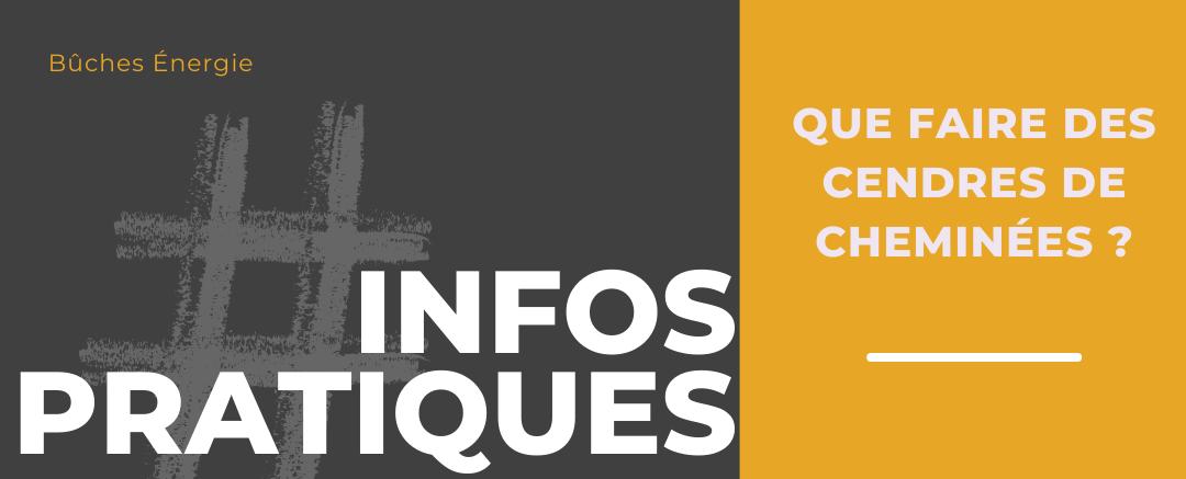 QUE FAIRE DES CENDRES DE CHEMINÉE ?