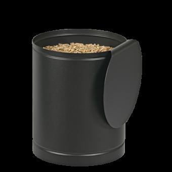 batiss rangement pellets noir givre | BUCHES ENERGIE