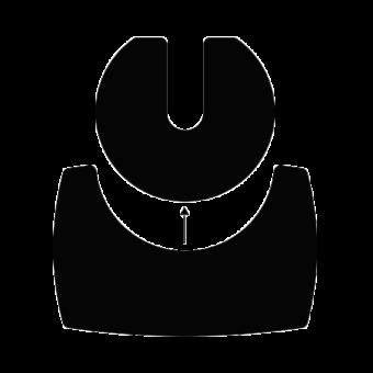 duo plaque sol acier noir | BUCHES ENERGIE