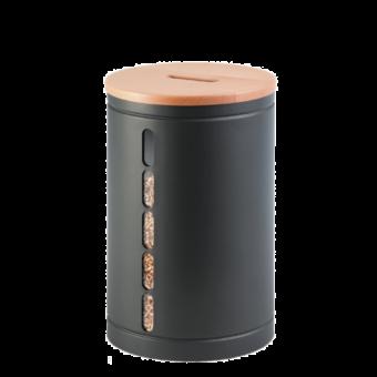 octaris rangement granules gris bois | BUCHES ENERGIE