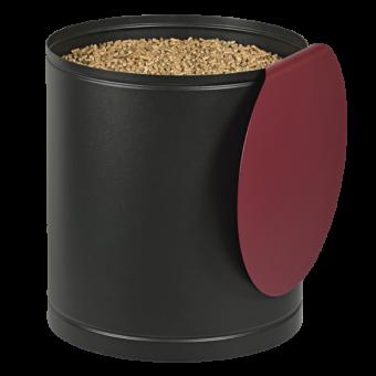 palass rangement granule rouge bordeaux | BUCHES ENERGIE