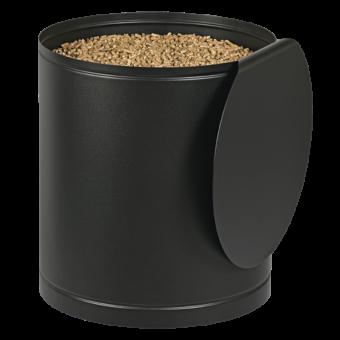palass rangement granules noir givre | BUCHES ENERGIE
