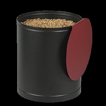 villa rangement granules rouge bordeaux | BUCHES ENERGIE