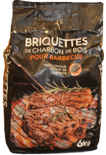briquettes barbecue carbo france | BUCHES ENERGIE
